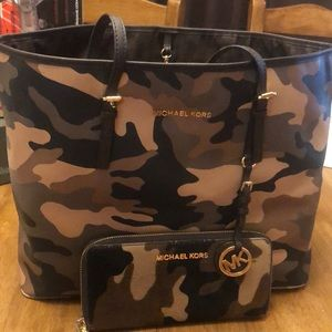 Michael Kors Carry-On Tote and Wallet